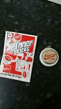 1980 S Russell Spinner COCA COLA Yoyo Gold