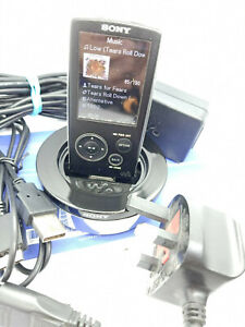 Sony Network Walkman NWZ-A816 MP3 WMA MP4 4GB Digital Media Music Player Black