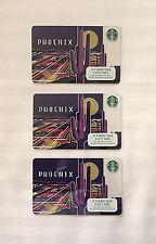 2017 Starbucks Phoenix Card - Lot of 3
