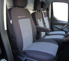 Fully tailored Van seat covers for FORD TRANSIT CHASSIS CAB 2013 - on  2+1(P2)