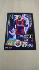 Lionel Messi Of Barcelona Power Play Card, Topps UCL 20 /21