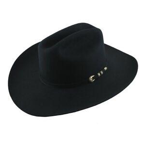 Stetson Cowboy Hat 6X El Camino Black Free Hat Brush !!!