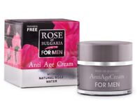 BioFresh ROSE OF BULGARIA Anti Age Cream Men Moisturising&Rejuvenating 50ml