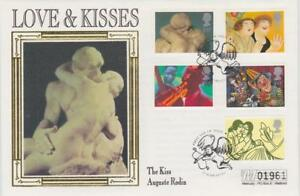 **  MERCURY SILK COVER GREETINGS: ART FIRST DAY COVER MARCH 21ST 1995 **