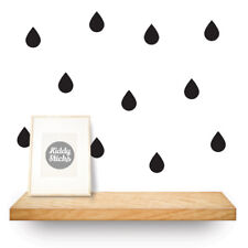 Raindrop Wall Stickers / Decals - 2 sizes - 21 Colours Available