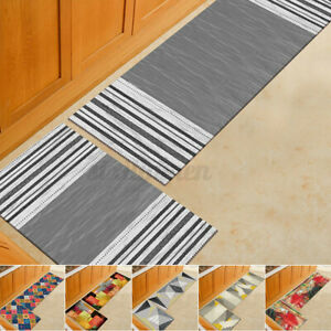 AU Non-Slip Kitchen Floor Mat Carpet Area Rug Bathroom Door Pad Home Decor Mat