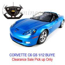 Pick up Only RASTAR R/C RADIO REMOTE CONTROL CAR CHEVROLET CORVETTE C6 GS 1/12