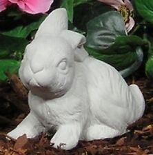 Cotton Tail Hops Baby Bunny Rabbit Down Latex Fiberglass Mold Concrete Plaster