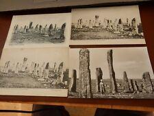 More details for callanish standing stones four vintage postcards  as a lot   p11 j 49