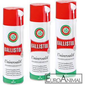 3 x 400ml Ballistol Universalöl Spray Kriechöl Waffenöl Öl Auto Fahrrad Klever