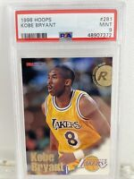 🔥 1996-97 NBA Hoops Kobe Bryant Rookie Card RC #281 PSA 9 | Los Angeles Lakers