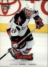 2006-07 Ultra Buffalo Sabres Hockey Card #21 Thomas Vanek