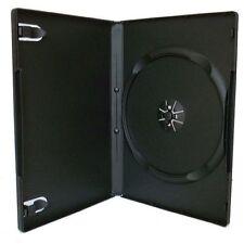 300 CUSTODIE DVD SINGOLE NERE 14mm per CD DVD -R vergini verbatim custodia BOX11