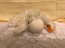 "Steiff Knopf im ohr  white/ivory sheep lamb 11"" plush 082474"