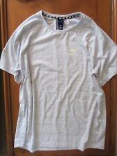Mens Nike Light Gray T Shirt Shirt Athleticwear Active Wear Top Xl Xlarge New