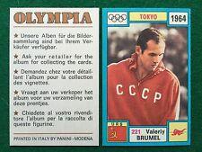 OLYMPIA 1972 n.221 BRUMEL RUSSIA SALTO IN ALTO , Figurina Sticker Panini (NEW)
