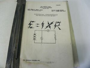 VINTAGE 1950 U.S. AIRFORCE RADIO OPERATOR  COURSE ELECTRICAL FUNDAMENTALS MANUAL