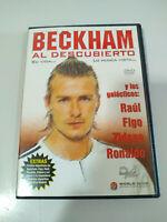 Beckham Al Descubierto Raul Figo Zidane Ronaldo DVD + Extras - REGION All