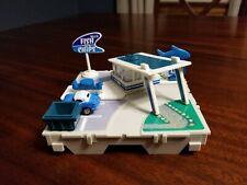Vintage 1987 Micro Machines Drive Thru Fish & Chips Travel Set