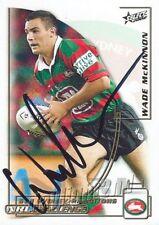 ✺Signed✺ 2002 SOUTH SYDNEY RABBITOHS NRL Card WADE MCKINNON
