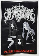 Immortal - Pure holocaust PATCH embroidered Black metal