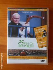 DVD 25 AÑOS CON JUAN PABLO II - COMO NUEVA (I3)
