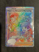 Pokemon POKEMON BREEDERS NURTURING 195/189 Darkness Ablaze Secret Rainbow Rare M