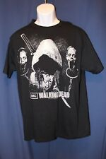 "Michonne Zombie head ""The walking Dead"" Black T-Shirt, LG, 100% Cotton, Jerzees"
