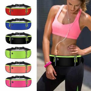 Waist Bag Running Sports Pocket Belt Phone Pouch Waist Bag Water Bottle Holder