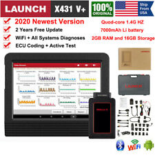 2020 New 7000mAh 1.4G HZ LAUNCH X431 V+ Auto Diagnostic Scanner Scan Tablet OBD2