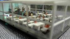 Festzelt mit Inneneinrichtung | Bierzelt 1:160 Partyzelt Bausatz