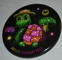 Disney AP Days Turtle Float Button Pin 120511 Electrical Light Parade