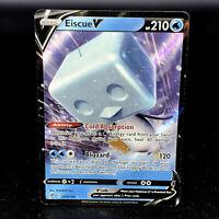 Eiscue V - SWSH Rebel Clash 055/192 - Half-Art Holo Rare Pokemon Card
