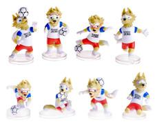 "Set 8 Action figures ""CLASSIC TEAM"" Mascot Zabivaka FIFA 2018 World Cup football"
