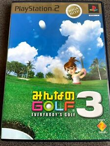 [EVERYBODY's GOLF3] PS2 Sony Playstation soft