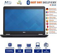 Dell Latitude E5470 14-Inch Laptop Intel i5 2.30Ghz 4GB RAM 250GB SSD Windows10