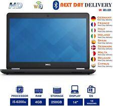 Dell Latitude E5470 14-Inch Laptop Intel i5 6th-Gen 2.30Ghz 4GB RAM 250GB SSD