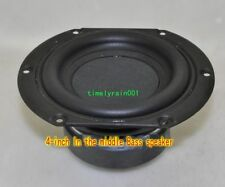 "1pcs 4""inch subwoofer 12mm Bass speaker 4ohm 25W-40W Loudspeaker car horn"