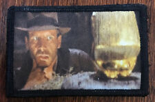 Indiana Jones Idol Movie Morale Patch Tactical Military USA Hook Badge Army Flag