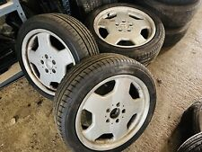 Mercedes monoblock alloys 17 Inch Wheels With Yokohama Tyres