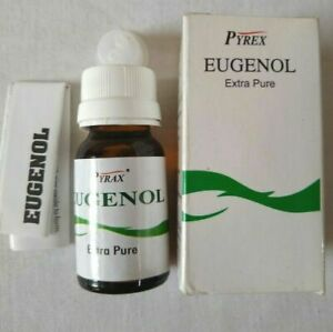 Pyrex Eugenol Oil Obtundent Extra Pure for Dental Dressings 15ml (Fast Ship).!