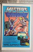 Masters Of The Universe Atari 2600 RARE Print Advertisement