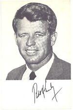 1964 Bobby Kennedy Spanish Photo Flyer NY ~ Robert F. Kennedy for U.S. Senator