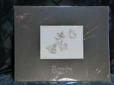 Swarovski Bambi Lithograph with Crystals – New-Old Stock in original cellophane