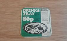 Coates Cider - Drinks Tray Offer - Beermat - 1977