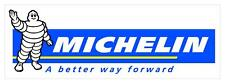 "#3094 (1) 6.5"" Michelin Man Racing Vintage Decal Sticker Laminated"