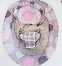 Baby Trend Bouncer Seat Cover Cushion Part Replacement Pink Floral