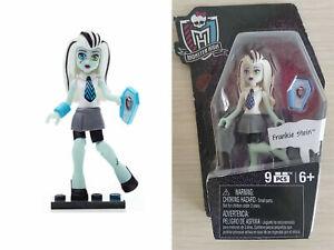 Monster High Ghouls Skullection FRANKIE STEIN Mini Figure Series 1, Mega Bloks