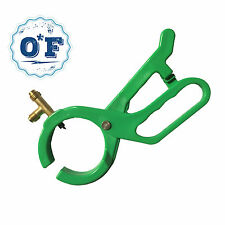 0*F R-134a R22 & R12 Refrigerant 2-In-1 Side Punch AC  Can Tap