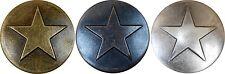25 Large Star Upholstery Framing Tacks Decorative Nails 1 1/8 Dia
